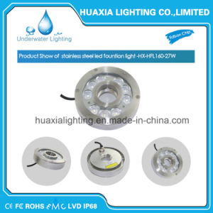 27W/9W High Power LED Waterproof Fountain Underwater LED Light pictures & photos