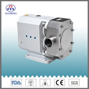 Sanitary Stainless Steel Water-Cooled Mechanical Seal Lobe Pump pictures & photos