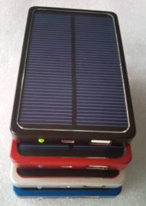 Solar Charger Sp-4000 with 4000mAh Li-Pol Power Bank pictures & photos