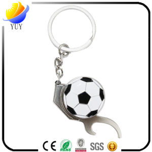 Custom Football Shape Beer Bottle Opener Key Chain or Basketball Shape Bottle Opener Key Chain pictures & photos