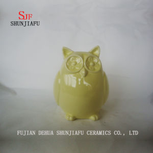 Owl Ceramic Furnishing Articles for Desk Decoration pictures & photos