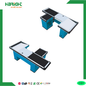 Supermarket Checkout Cashier Counter Stand Desk Table pictures & photos