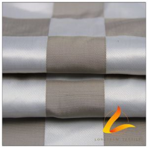 50d 340t Plaid Jacquard 83.5% Polyester+ 16.5% Nylon Fabric (H061) pictures & photos