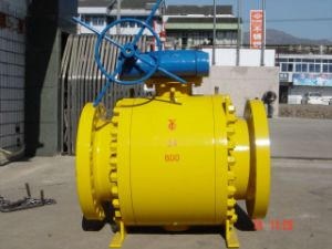API 8inch Class600 Trunnion Mouted Ball Valve pictures & photos