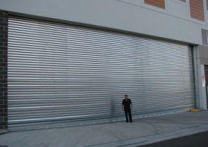 Remote Control Aluminum High Speed Roller Shutter Doors (Hz-FC256) pictures & photos