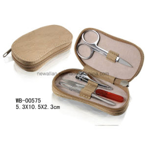 Travel 4PCS Manicure Tools Zipper Pedicure Set Manicure Set pictures & photos