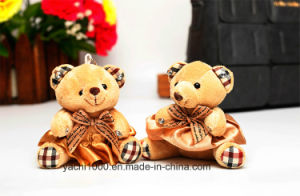 Cute Bear with Bow Keychain Teddy pictures & photos