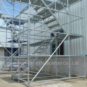Steel Galvanized Ringlock Scaffolding for Construction pictures & photos