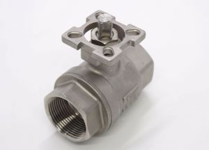 2-PC Thread Ball Valve with ISO5211 pictures & photos