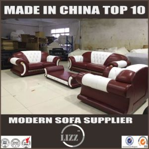 Geniune Cow Leather Sofa Living Room Miami Furniture Set pictures & photos