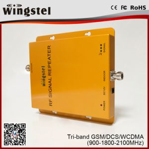 2017 Best Selling GSM DCS WCDMA 900 1800 2100MHz 2G/3G/4G Signal Booster pictures & photos
