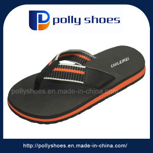 Cheap EVA Summer Canvas Strap Flip Flop pictures & photos