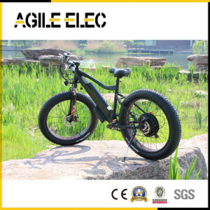 48V 500W Beach Fat Tire Electric Bike with Lithium Battery pictures & photos