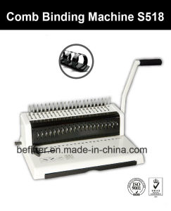 S518 Mini A4 Size Comb Binding Machine pictures & photos