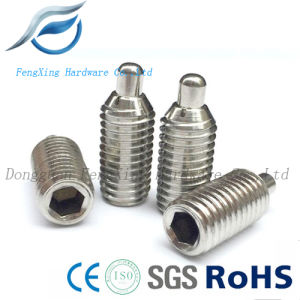Stainless Steel Hex Slot Pin Plunger, Misumi Standard Ball Plunger