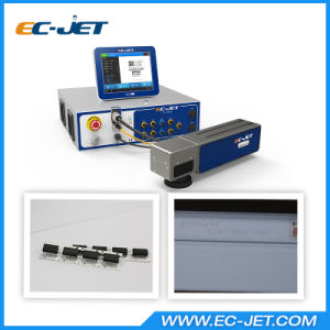 Non-Contact Fiber Laser Printer for Static Coding (EC-laser) pictures & photos