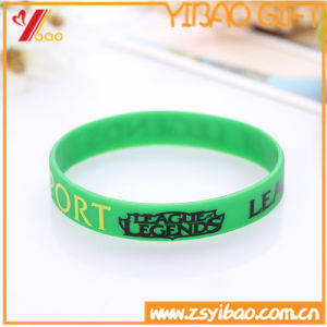 Custom Deboss Logo Silicon Wristband for Promotion Gift pictures & photos