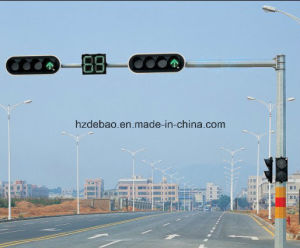 Galvanized Traffic Signal Steel Pole pictures & photos