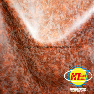 2016 The Newest Durable PVC Synthetic Leather for Sofa Furniture Chairs (Hongjiu-1702#) pictures & photos