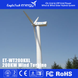 200kw Wind Turbine Wind Generator Wind Power System Windmill pictures & photos
