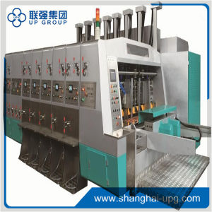 Printing-Lqtp 2500X1200 4-Colors Flexo Printing Slotting and Die-Cutting Machine pictures & photos