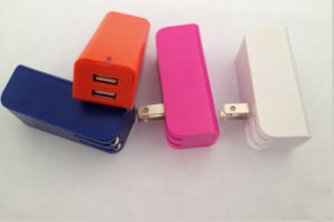 High Quality Folding Wall Charger with 2ports USB pictures & photos