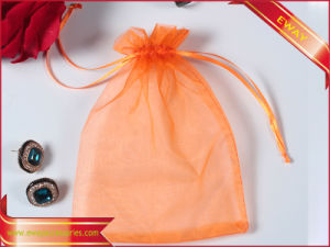 Printed Organza Pouch Drawstring Pouch jewelry Gift Packing Pouch pictures & photos