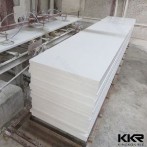 Pure White Color Bathroom Countertop Wholesale Solid Surface pictures & photos