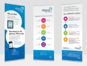 The Lost Effective Display Retractable Advertising X Banner Stands pictures & photos