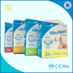High Quality Cotton Diapers Colored Disposable Baby Diaper Manufacturer pictures & photos
