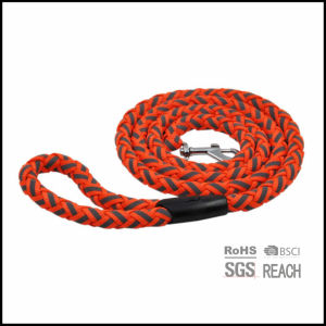 Red Reflective Rope Pet Dog Leash with Heavy Duty Clasp pictures & photos