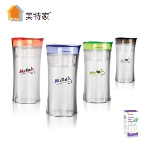 6109 Metka Household High Quality Plastic Crystal Water Cup 280ml pictures & photos