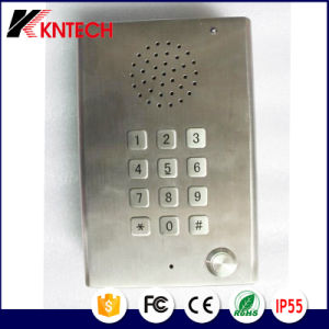 Wall-Mount Telephone Waterproof Knzd-29 Audio Intercom Door Phone Antique Telephone pictures & photos