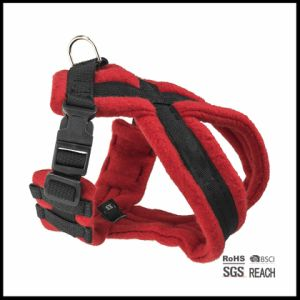 Custom Heavy Duty Fleece Winter Dog Walking Warm Harness for Big Dogs pictures & photos