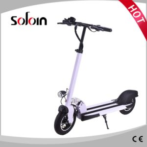 350W Foldable Lithium Battery Brushless Street Electric Scooter (SZE350S-1) pictures & photos