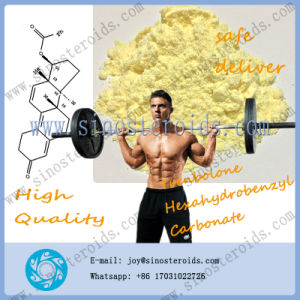 Tren Anabolic Steroid Trenbolone Hexahydrobenzyl Carbonate Thc Muslce Building Material pictures & photos