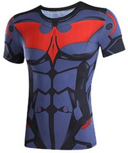 Men Compression Dri Fit Sublimation Printed T Shirts pictures & photos