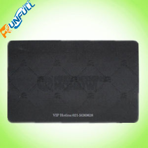 Clear PVC Business VIP / Membership Card with Serial Number pictures & photos