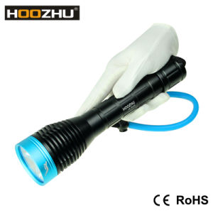 New Hoozhu D12 Diving Light Max 1000lm Underwater 120m LED Flashlight
