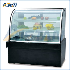 Hc1800 Free Standing Single Are Cake Showcase for Bread Display pictures & photos