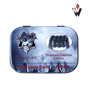 New Packing Violence Framed Clapton Coil Large Stock