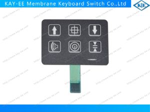 OEM PE Embossing Membrane Switch Keypad with Metal Domes pictures & photos