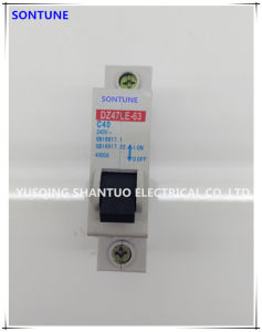 Sontune Dz47le-63 63 125 AMP 1 to 4 Poles MCB/ELCB Earth Leakage Circuit Breaker pictures & photos