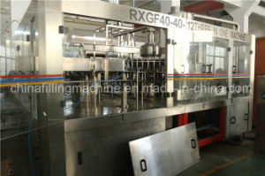 Sparkling Carbonated Gas Water Bottling Filling Machinery pictures & photos