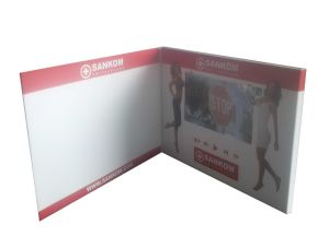 LCD Screen USB Video Brochure for Business pictures & photos