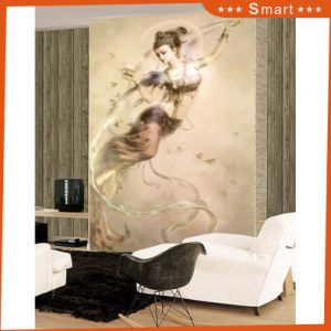 Europe Style Antique Design Hanging Wall Oil Painting High Quality Home Goods Canvas Print Large Size Model No: Hx-4-007 pictures & photos