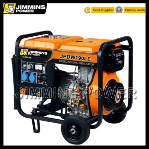 40-300A 1.5kw to 8kw Industry Portable Diesel Generator and Welders Price (double use machine) pictures & photos