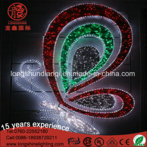 Color Changed 220V Butterfly Lamp LED Motif Light for Chritmas Decoration pictures & photos