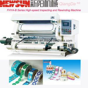 FHYB Series High-Speed Plastic Film Inspecting and Rewinding Machine pictures & photos