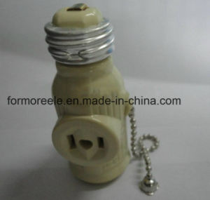 South America Type Lamp Holder /Lamp Socket with Chain pictures & photos
